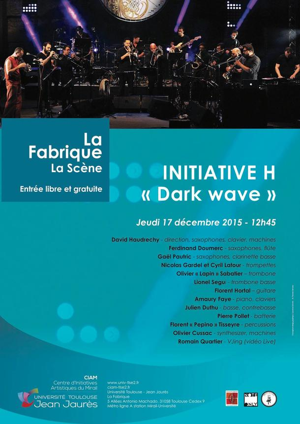 INITIATIVE H to perform at La Fabrique-CIAM with VJ performance