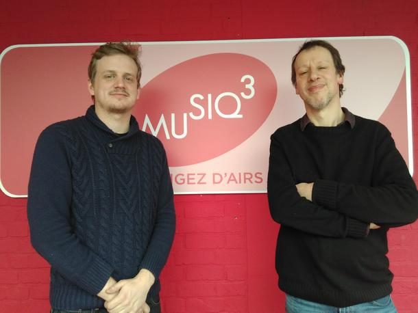 Amaury interviewed on RTBF Musiqu'3 in Laurent Graulus's Show