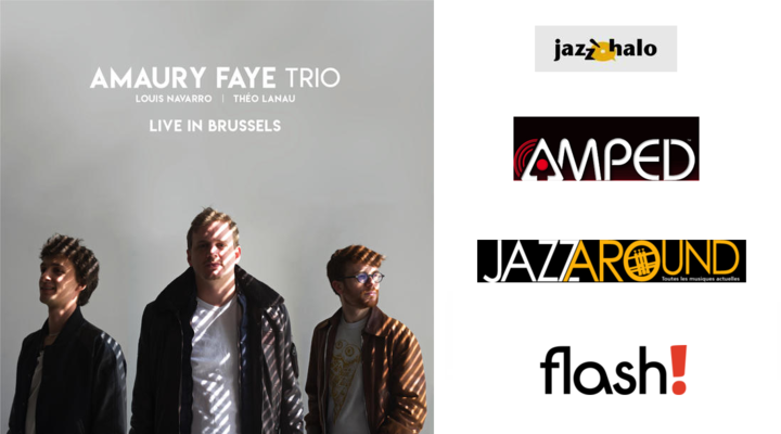 Five new reviews for Amaury Faye Trio's Live In Brussels