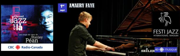 Amaury Faye interviewed on Radio Canada about Clearway album