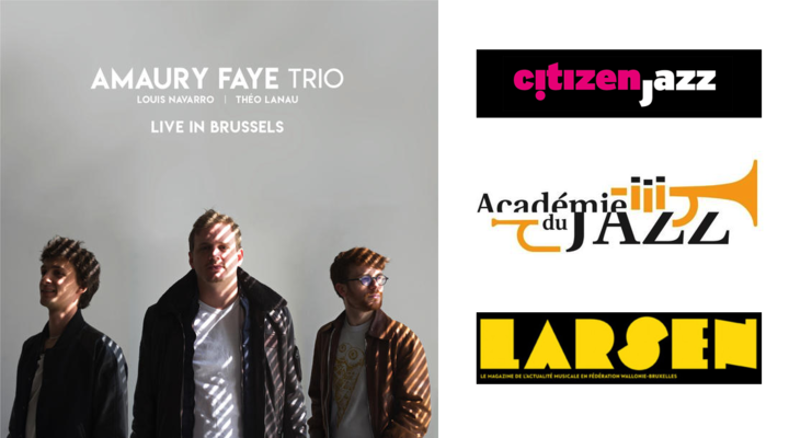 3 more reviews for Amaury Faye Trio's Live In Brussels