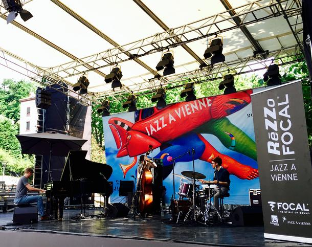 Amaury Faye Trio winner of the Jazz à Vienne Rezzo Focal Competition 2016