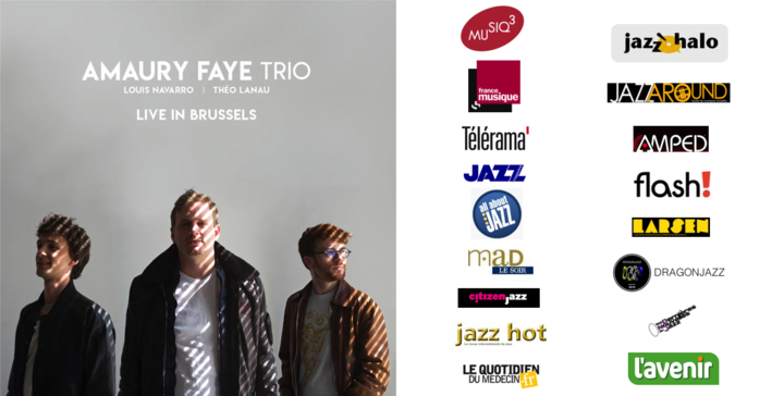 Amaury Faye Trio - Live In Brussels [Press Review]