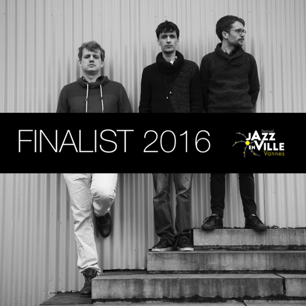 Amaury Faye Trio finalist of the Jazz en Ville National Competition 2016