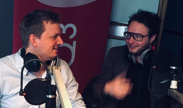 Amaury Faye and Igor Gehenot interviewed by Philippe Baron on RTBF - Musiq3 about their new duo